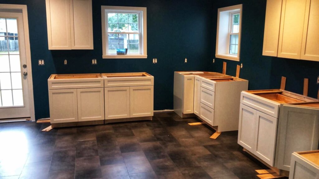 picture of kitchen remodel for article about renovating your home