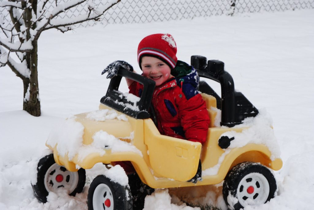 Preparing your vehicle for winter isn't kids play